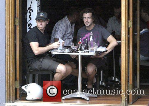 Host of MTV program 'The Lair' has lunch...
