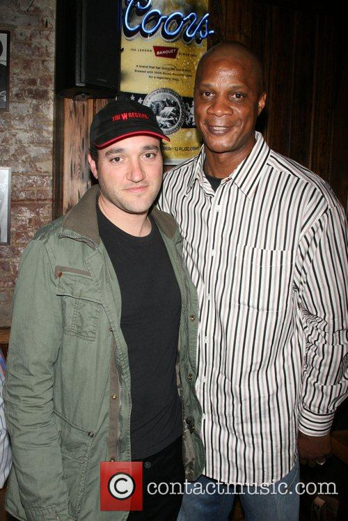 Daryl Strawberry and Greg Bello hosts the Yankees...