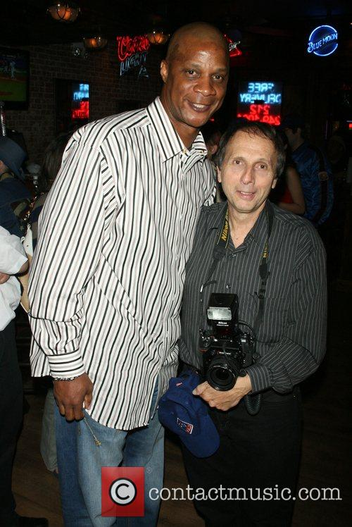 Daryl Strawberry and George Napolitano hosts the Yankees...