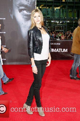 Yvonne Holzel German premiere of 'The Bourne Ultimatum'...