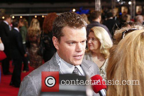Matt Damon German premiere of 'The Bourne Ultimatum'...