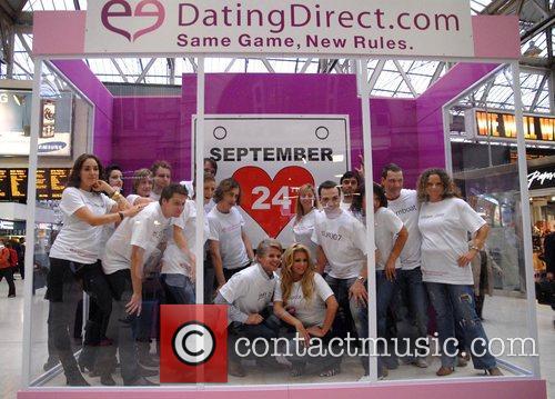 Jeff Brazier and Bianca Gascoigne  DatingDirect.com photocall...