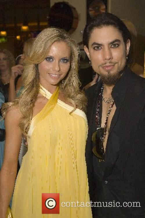Dave Navarro and Tami Donaldson Dave Navarro 40th...