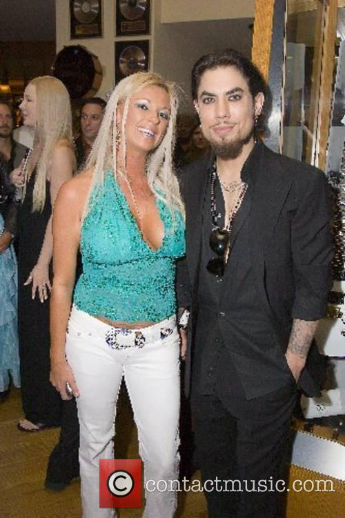 Dave Navarro and Tiffany Masters Dave Navarro 40th...