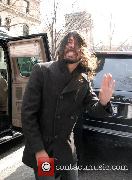 Dave Grohl, David Letterman and Foo Fighters 2