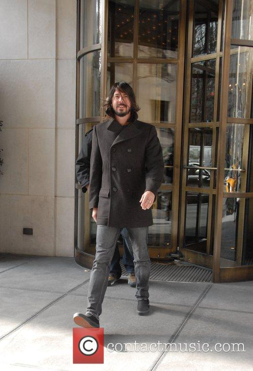 Dave Grohl, David Letterman and Foo Fighters 5