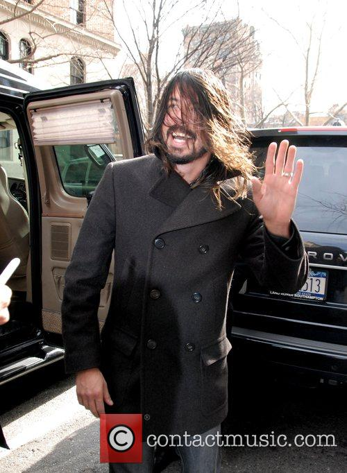 Dave Grohl, David Letterman and Foo Fighters 4