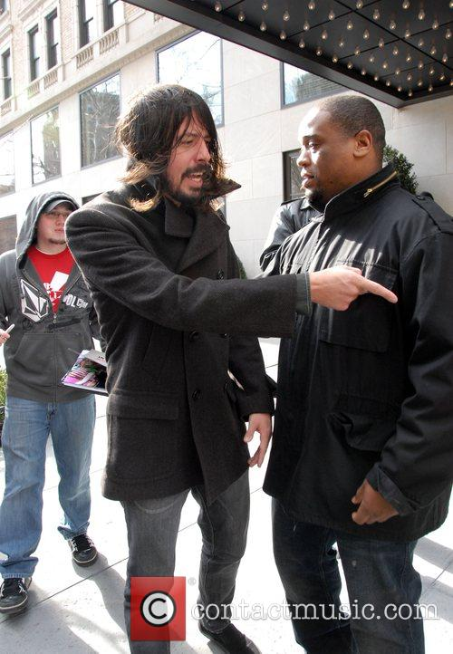 Dave Grohl, David Letterman and Foo Fighters 3