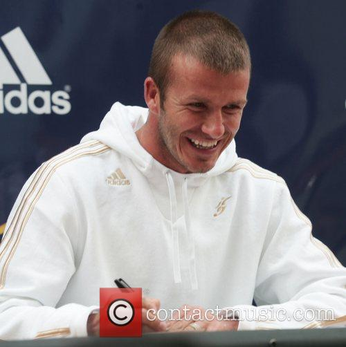 David Beckham and La Galaxy 3