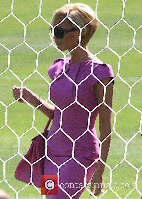 Victoria Beckham FANS TURN OUT FOR BECKHAM More...