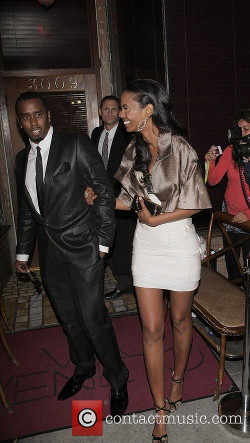 Sean Combs aka P Diddy and Kim Porter...
