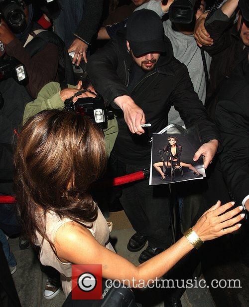 Eva Longoria Parker leaving a party thrown by...