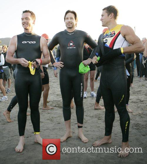 David Duchovny takes part in the Nautica Malibu...