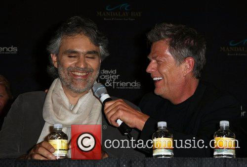 Andrea Bocelli and David Foster 4