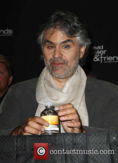 Andrea Bocelli Press Conference for 'David Foster &...