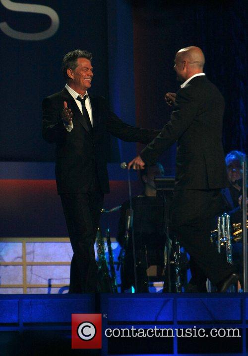 David Foster and Andre Agassi David Foster &...
