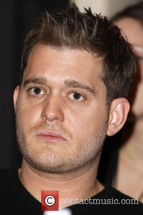 Michael Buble'  Press Conference for 'David Foster...