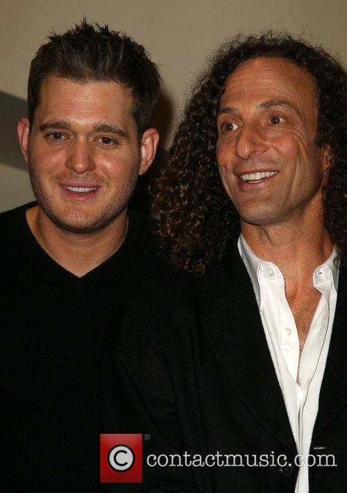 Michael Buble' and Kenny G Press Conference for...