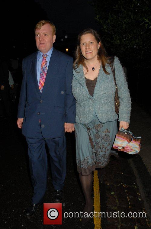 Charles Kennedy,  arrives at Sir David Frosts...