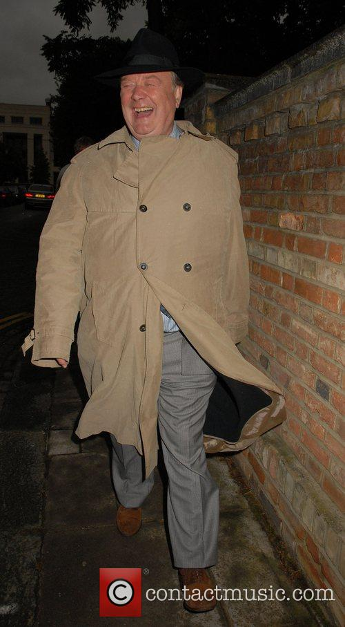 Kenneth Clarke,  arrives at Sir David Frosts...