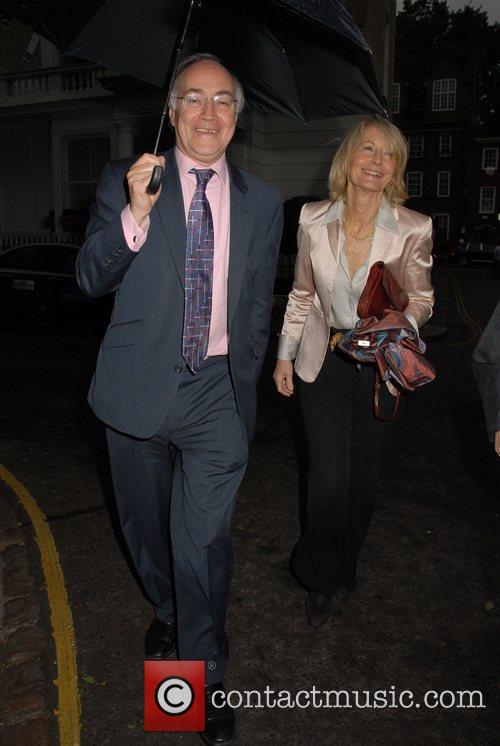 Michael Howard,  arrives at Sir David Frosts...