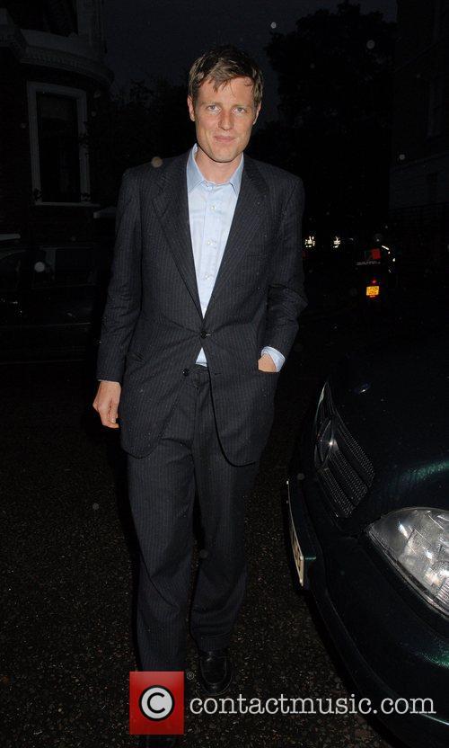 Zac Goldsmith,  arrives at Sir David Frosts...