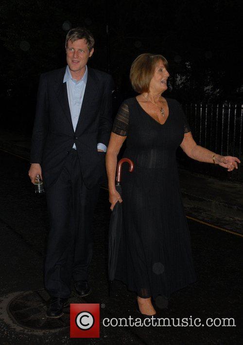 Zac Goldsmith and Annabel Goldsmith,  arrives at...