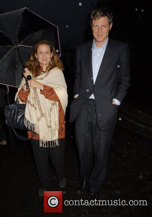 Zac Goldsmith and Wife,  arrives at Sir...
