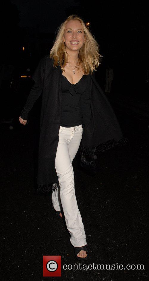 Imogen Lloyd Webber,  arrives at Sir David...