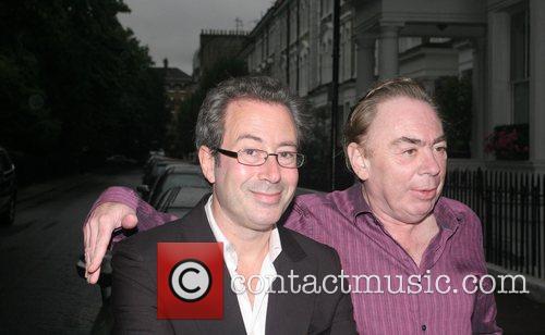 Ben Elton and Sir Andrew Lloyd Webber...