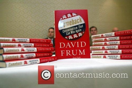A display of David Frum's new book, 'Comeback'...