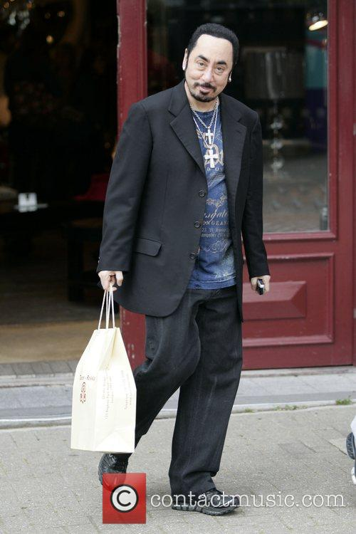David Gest leaves Tann Rokka home store in...