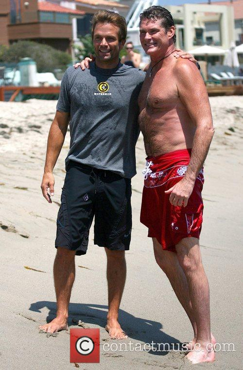 David Hasselhoff and Surfing 2