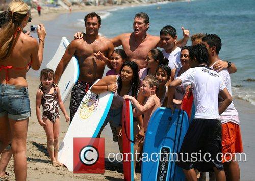 David Hasselhoff and Surfing 9