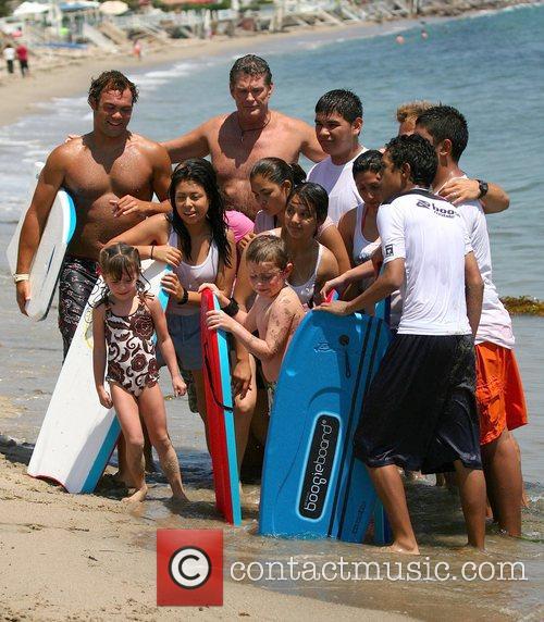 David Hasselhoff and Surfing 5