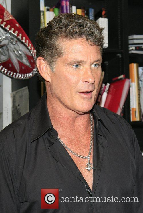 Book signing of 'Don't Hassel The Hoff' at...
