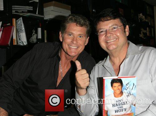 David Hasselhoff  book signing of 'Don't Hassel...