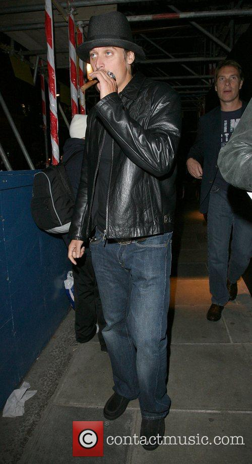 Kid Rock leaves Automat restaurant at 1.30am with...