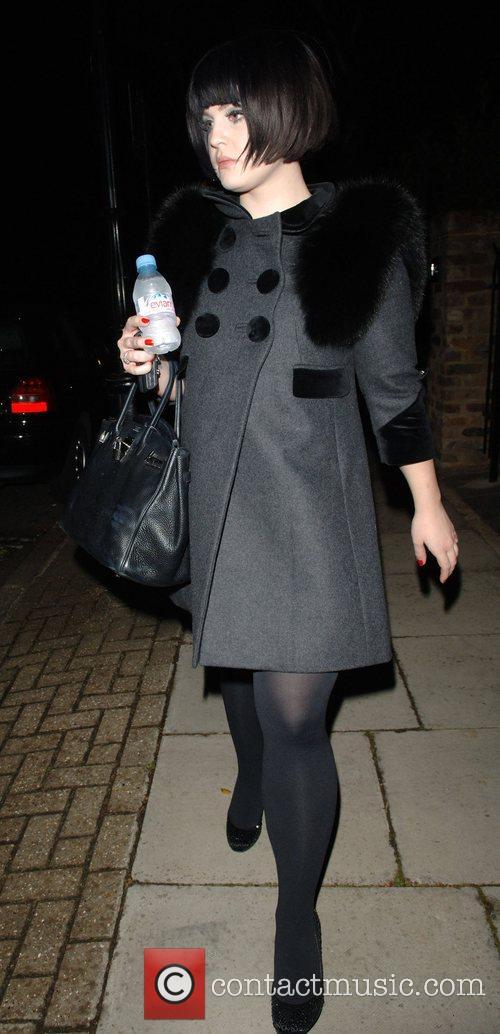 Kelly Osbourne  leaving Davinia Taylor's house at 2.30...