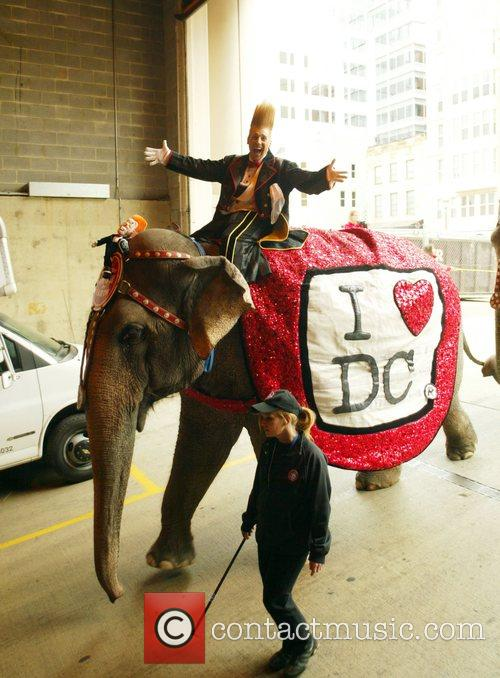 The Ringling Bros and Barnum & Bailey's Circus...