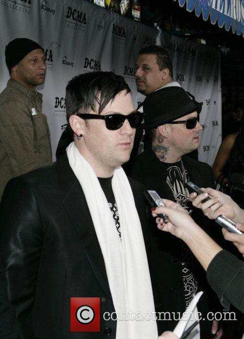 Benji Madden from Good Charlotte DCMA Collective Flagship...