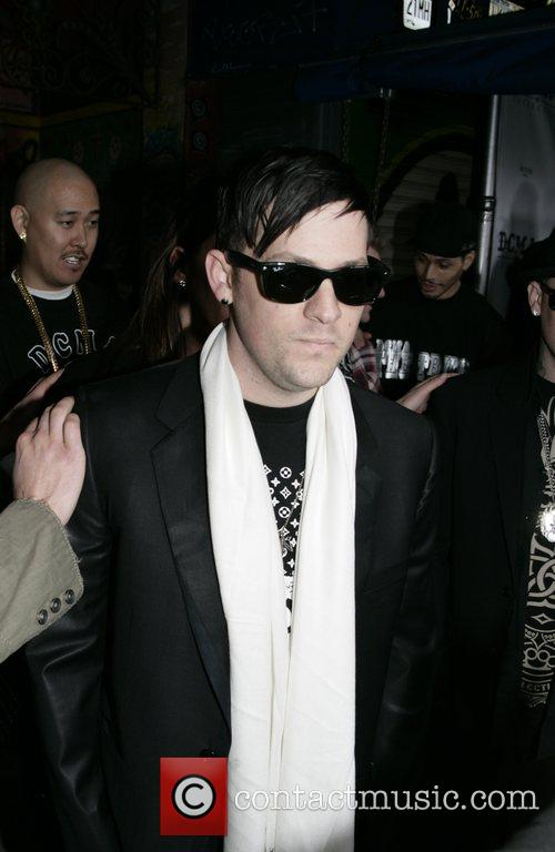 Joel Madden from Good Charlotte DCMA Collective Flagship...