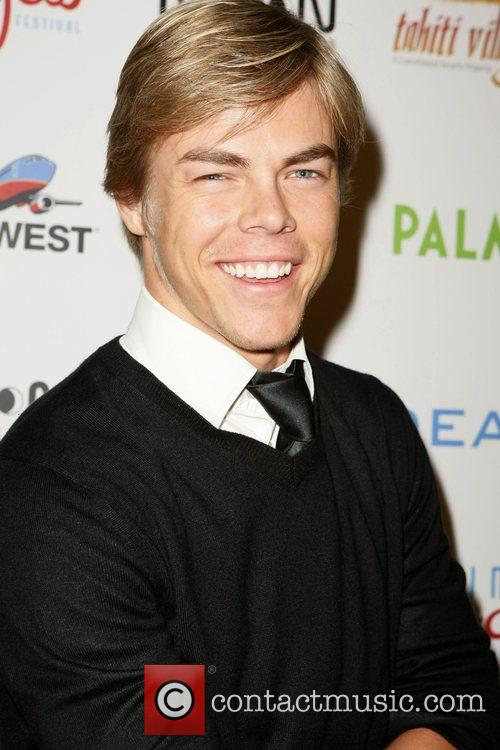 derek hough 1836667 One of our clients got into the spirit early for her birthday,
