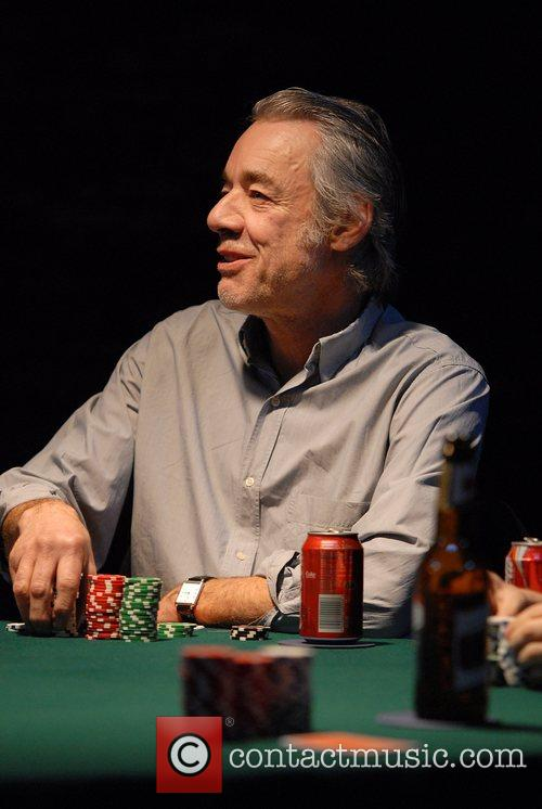 Roger Lloyd-Pack Patrick Marber's play 'Dealer's Choice' staged...