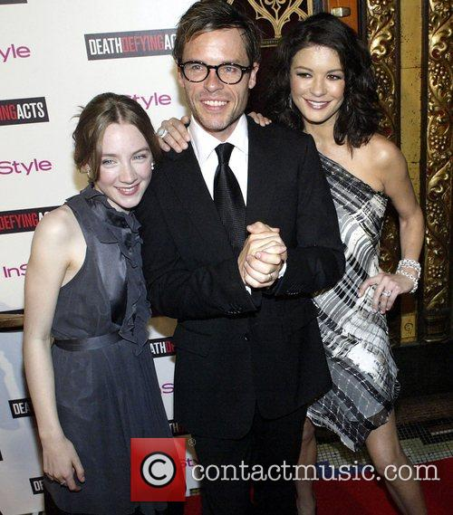 Saoirse Ronan and Catherine Zeta-jones 1