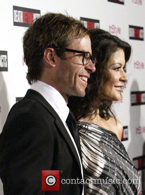 Guy Pearce and Catherine Zeta-jones
