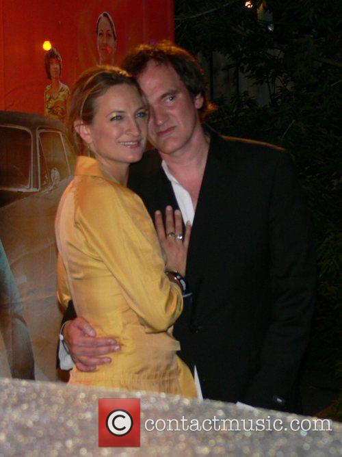 Zoe Bell and Quentin Tarantino Aftershow party for...