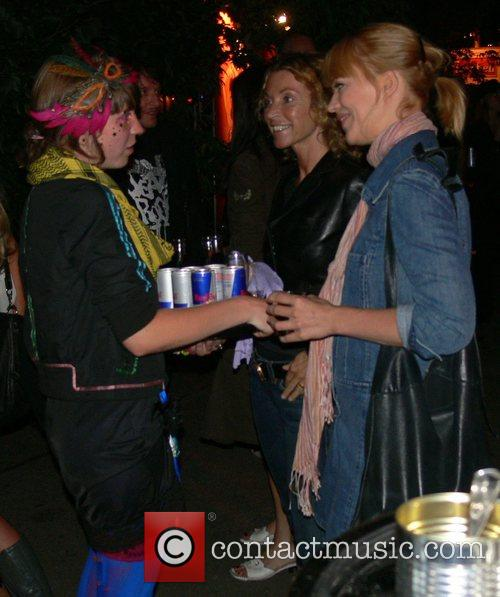 Heike Makatsch Aftershow party for the special screening...