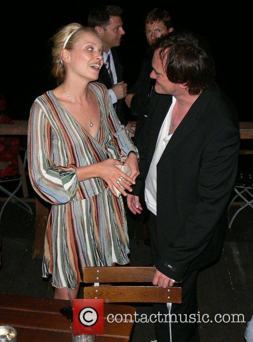 Quentin Tarantino and party-girl Sophie Aftershow party for...