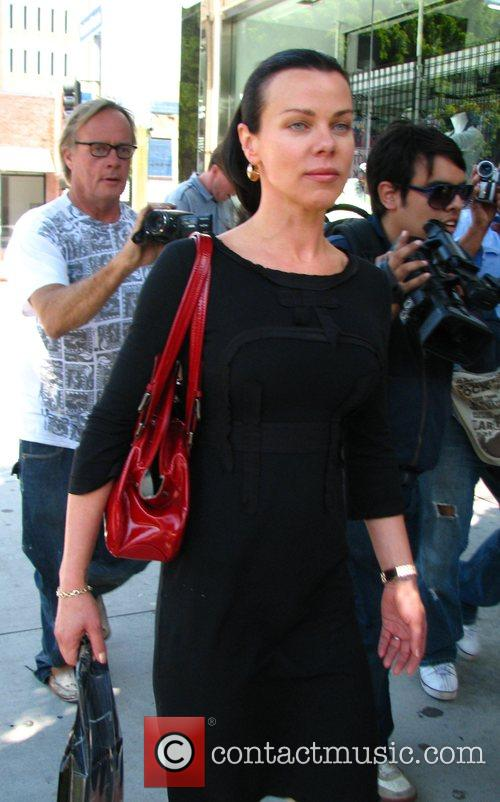 Entourage star, Debi Mazar wearing a vintage dress...
